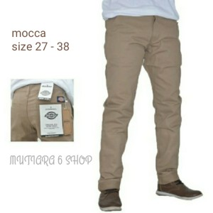 Harga model terbaru dickies celana chino panjang pria cotton   hitam   HARGALOKA.COM