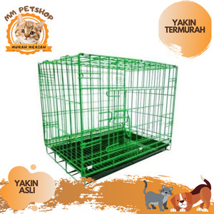 Harga kandang b 01 kandang kucing anjing murah dan kuat  gojek grab | HARGALOKA.COM