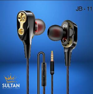 Harga headset hf headsfree earphone musik gaming jbl jb11 pure bass   HARGALOKA.COM