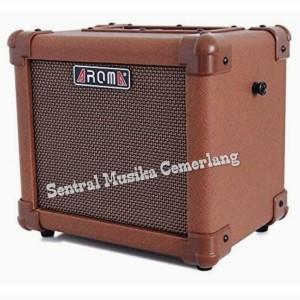Harga amplifier speaker ampli gitar akustik aroma ag 10a with input | HARGALOKA.COM