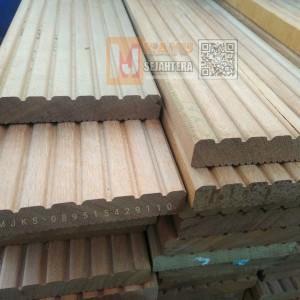 Harga harga lantai kayu decking bengkirai jumbo 2 5x14 5x180 cm | HARGALOKA.COM
