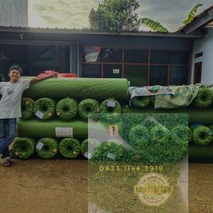 Harga rumput sintetis 1 roll 2x25m tipe swiss 3 cm gratis kirim area | HARGALOKA.COM