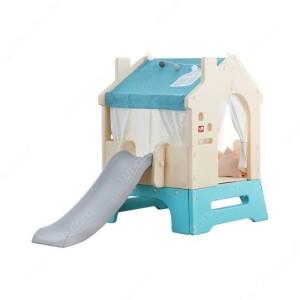 Harga yaya bunker playhouse 3 in 1 slide   HARGALOKA.COM
