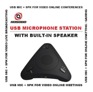 Harga microphone usb with speaker for laptop online meeting   hosodo | HARGALOKA.COM