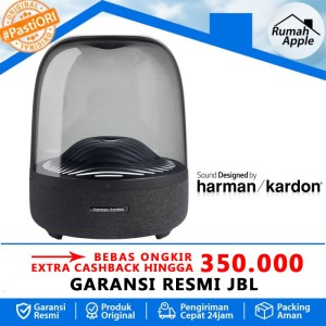 Harga harman kardon aura 3 speaker wireless bluetooth audio stereo   | HARGALOKA.COM