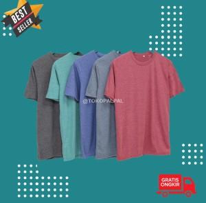 Harga kaos polos carbon mv 11 cotton combed 30s 4 warna   maroon misty | HARGALOKA.COM