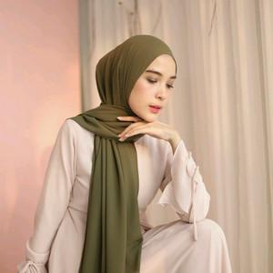 Harga pasminah tali jilbab pasmina tali lagi trend bahan diamond termurah   merah | HARGALOKA.COM