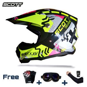 Harga helm cross scott mx titan series full face | HARGALOKA.COM