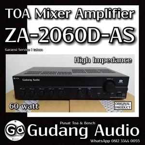Harga amplifier toa 60 watt za 2060d khusus speaker impedansi | HARGALOKA.COM