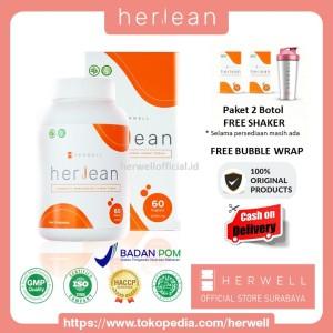 Harga herwell herlean 2 box 120 kapsul   pelangsing diet detox bpom | HARGALOKA.COM