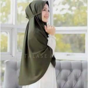 Harga a6 bergo maryam diamond jumbo tali hijab instant daily   on   HARGALOKA.COM