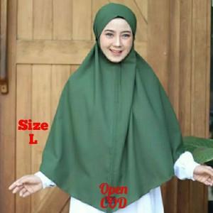 Harga a15 hijab bergo maryam moscreepe jumbo l jilbab syar 39 i hijab instan   om   HARGALOKA.COM