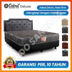 Harga springbed central deluxe   spring bed murah berkualitas   matras only 100 x | HARGALOKA.COM
