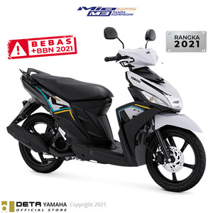 Harga deta yamaha mio m3 125 otr serang banten 2021 sepeda motor   | HARGALOKA.COM