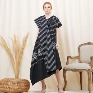 Harga baju dress tenun blangket etnik termurah a   | HARGALOKA.COM