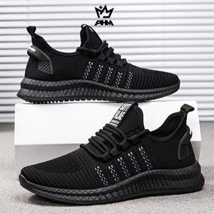 Harga phm shoes sepatu pria sneakers import sepatu olahraga kasual phm101   hitam putih   HARGALOKA.COM