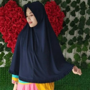 Harga a12 hijab kerudung bergo jersey rempel ukuran l jilbab wanita instan   on   HARGALOKA.COM
