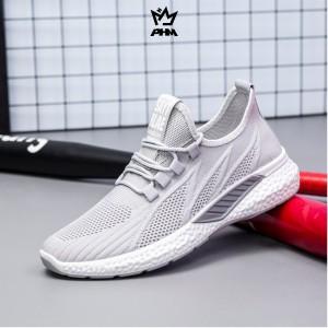 Harga phm shoes sepatu pria sneakers import sepatu olahraga kasual phm108   abu abu   HARGALOKA.COM