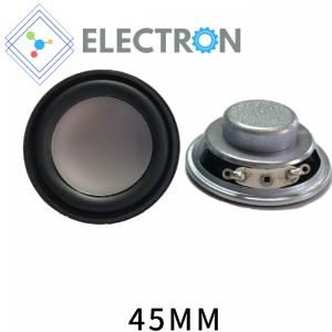 Harga speaker mini 4 ohm 3w bulat silver 40mm full range audio   HARGALOKA.COM