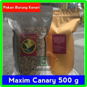 Harga pakan kenari gacor import lomba maxim canary 500 | HARGALOKA.COM