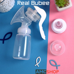 Harga real bubee pompa asi manual breast pump powerful nipple suction rb701   garansi 14 | HARGALOKA.COM