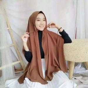 Harga a1 kerudung hijab jilbab pasmina tali 150cmx75cm bahan nyaman premium   on   HARGALOKA.COM
