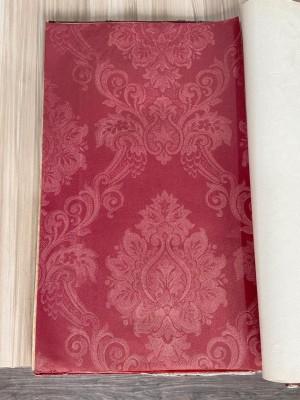 Harga wallpaper dinding vinyl merah damask batik oriental classic | HARGALOKA.COM