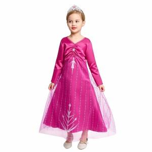 Harga baju pink elsa frozen 2 princess cg68   size | HARGALOKA.COM