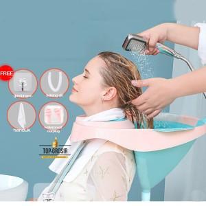 Harga wasbak keramas lansia cuci rambut ibu hamil anak sillicone | HARGALOKA.COM