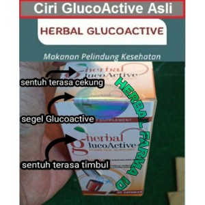Harga glucoactive asli obat diabetes   gluco active original obat | HARGALOKA.COM