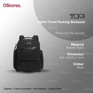 Harga t u m i alpha travel packing backpack   | HARGALOKA.COM