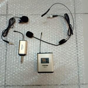 Harga mic wireless shure m 03hc single new mic jepit headset cocok imam   HARGALOKA.COM
