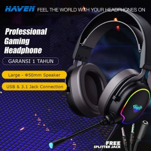 Harga headset headphone gaming rgb premium usb jack 3 5 pc ps ps4 ps5 | HARGALOKA.COM