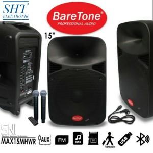 Harga speaker portable baretone max 10 inc bluetooth   HARGALOKA.COM