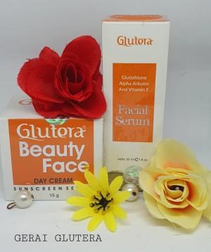 Harga morning treatment glutera beauty face facial serum glutera day | HARGALOKA.COM