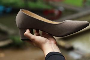 Harga hayba shoes sp01   sepatu wanita untuk kerja kantor terlaris warna abu     HARGALOKA.COM