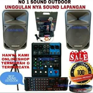 Harga promo paket sound lapangan outdoor speaker 15 inch garansi | HARGALOKA.COM