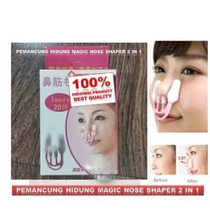 Harga alat pemancung hidung permanen asli original magic nose shaper 2 in | HARGALOKA.COM