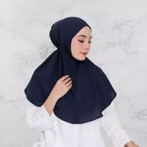 Harga a8 hijab bergo maryam tali khimar instan jilbab kerudung daily   on   HARGALOKA.COM
