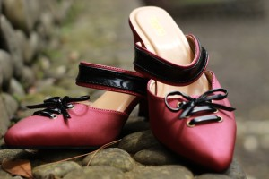Harga hayba shoes st01   sepatu wanita hak tali terbaru warna merah     HARGALOKA.COM