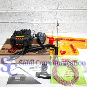 Harga paket radio rig mini dualband plus antena mobil cr77 cr 77 | HARGALOKA.COM