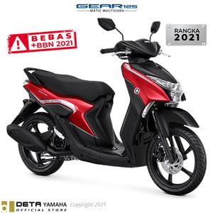 Harga deta yamaha gear 125 otr bogor 2021 sepeda motor   | HARGALOKA.COM