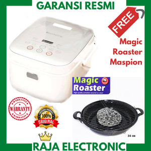 Harga ecohome eco home digital rice cooker magic com low carbo 1 2 l | HARGALOKA.COM