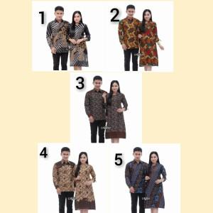 Harga baju batik pasangan keluarga batik couple sarimbit   m motif | HARGALOKA.COM