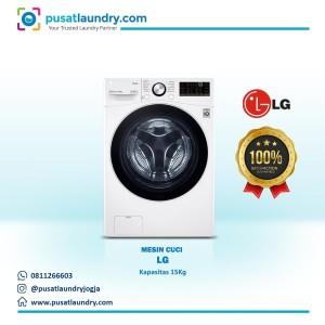 Harga mesin cuci laundry front loading   washer lg 15 kg terbaik   HARGALOKA.COM