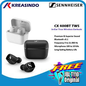 Harga sennheiser cx400bt cx 400bt tws true wireless earphones garansi resmi   | HARGALOKA.COM