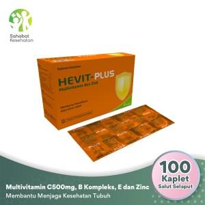 Harga hevit plus   multivitamin c 500 mg b1 b6 b12 e dan | HARGALOKA.COM