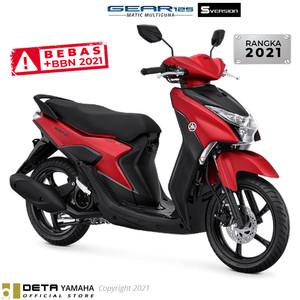 Harga deta yamaha gear 125 s otr yogyakarta 2021 sepeda motor   | HARGALOKA.COM
