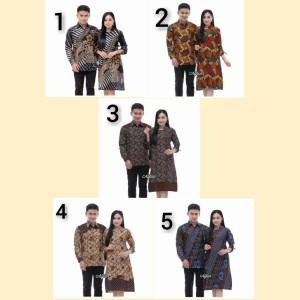Harga baju batik couple baju seragam batik sarimbit terbaru   | HARGALOKA.COM