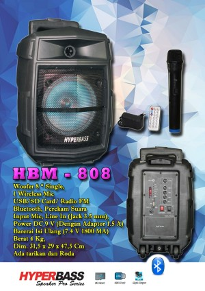 Harga hyperbass speaker meeting speaker portable wireless bluetooth 15 | HARGALOKA.COM